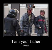 I am your father. Mikola!